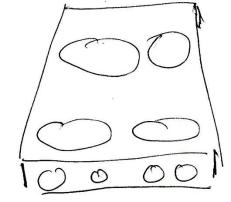 Figure 1. Classicl Stove Layout