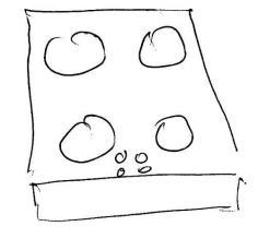 Figure 2. New Stove Layout